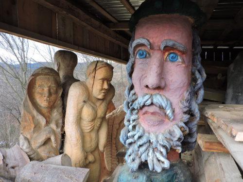 Bolek Majerik – Polak i rzeźbiarz mieszkający w Rumunii